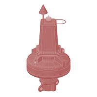 PMP-1250HT Plastic Buoy