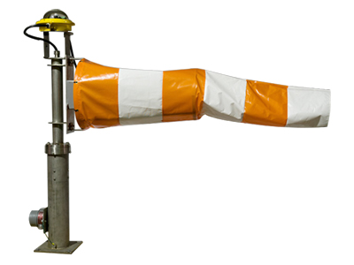 WS-Hazardous Area LED Lighted Windsock