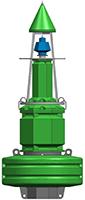 PMB1800RM 1.8m - Navigation Buoy