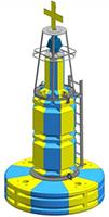 PMB2400RM 2.4m - Navigation Buoy