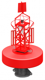 PMEB Offshore Elastomer Navigation Buoy - 2.0m - 3.0m